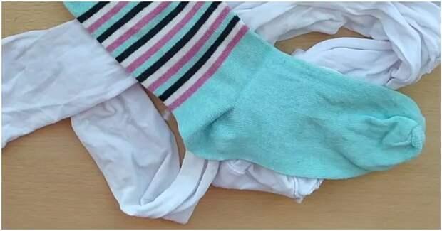 Утилизация одиночных носков с харизматичным результатом