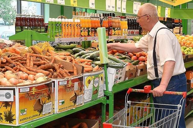 Где дороже продукты - в Москве или Киеве