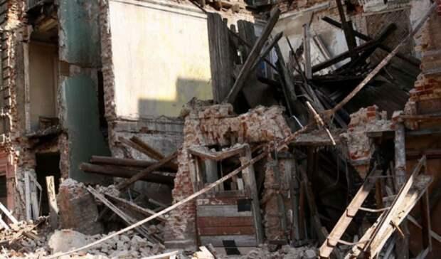 ВРостове-на-Дону назвали подробности обрушения стены дома наСоциалистической