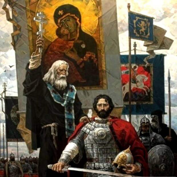 Куликовская битва в образах и картинах