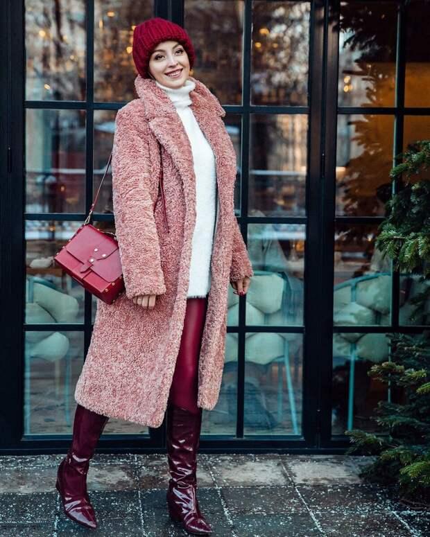 Роскошные зимние образы для элегантных дам