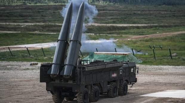 Россия развернула на границе с Украиной комплексы ракет «Искандер-М»