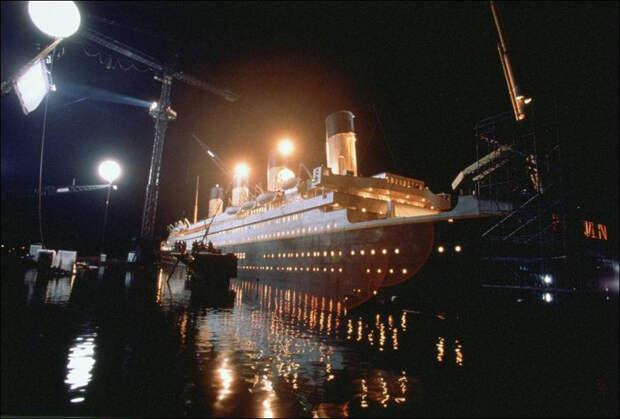 10 крутых фото со съемок «Титаника»
