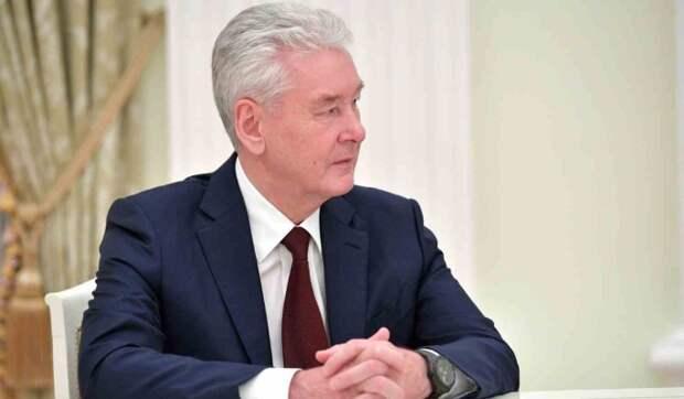 Собянин пообещал пожилым москвичам миллион призов за прививку от COVID-19