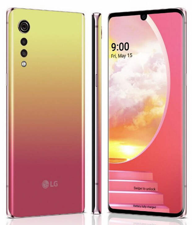 LG официально анонсировала смартфон Velvet