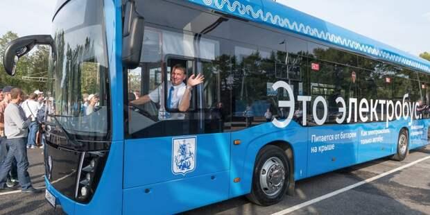 Через Свиблово запустят новый электробусный маршрут