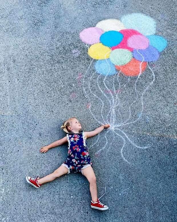 Мелки ифантазия: милые фото волшебных миров, которые мама создала для дочек вкарантине