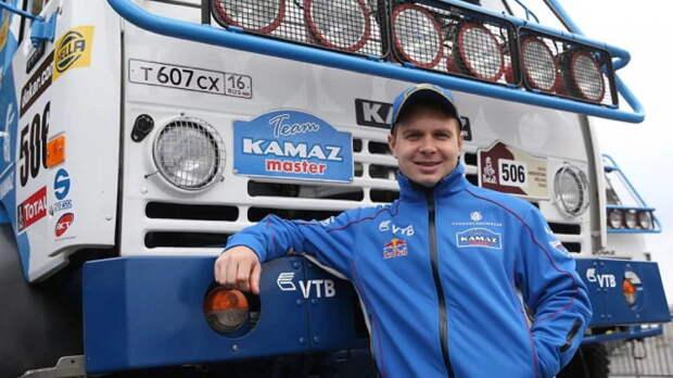 Эдуард Николаев снова привез свой «КАМАЗ» к золотой награде