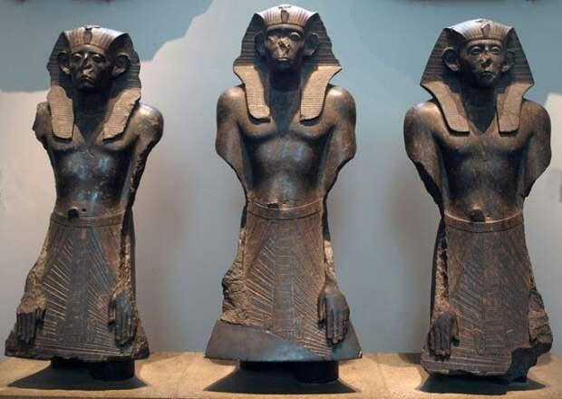 Древние египетские статуэтки