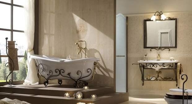 Ванная комната и художественная ковка