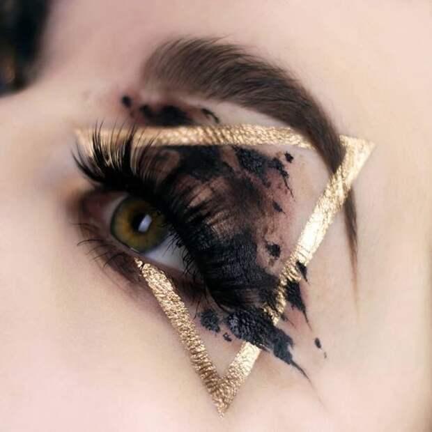 Сказочно пугающий макияж (трафик)