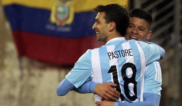 «Рома» готова уступить «Зениту» хавбека сборной Аргентины уже нынешней зимой