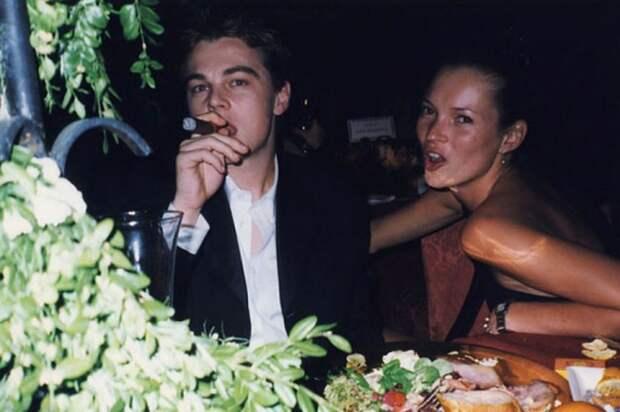 Леонардо Ди Каприо и Кейт Мосс Любительские фото, голливуд, кино, фото
