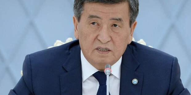 Президент Киргизии посетит Россию