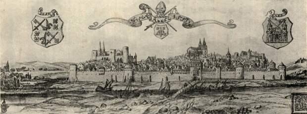 Взятие Нарвы и Дерпта 1558 год