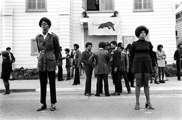 Социальные конфронтации в США 1960-х - 1970-х годов: Леворадикальная Партия черных пантер   (2)
