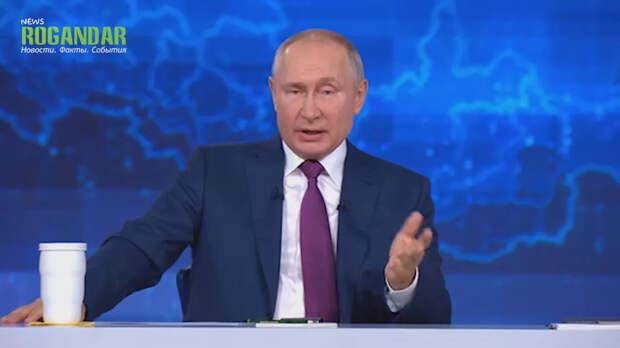 Прямая речь президента: становится понятна стратегия Путина по Украине