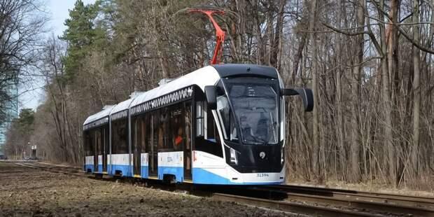 Движение трамвая № 30 от Таллинской улицы до «Войковской» возобновлено