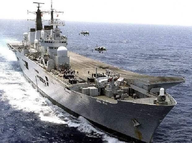 Концепция авианесущего крейсера с БЛА шестого поколения