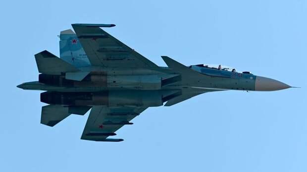 Российский истребитель перехватил самолеты Великобритании и США