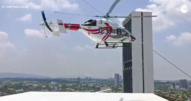 """Вертолет """"Ансат"""" совершил первый полет в Мексике"""