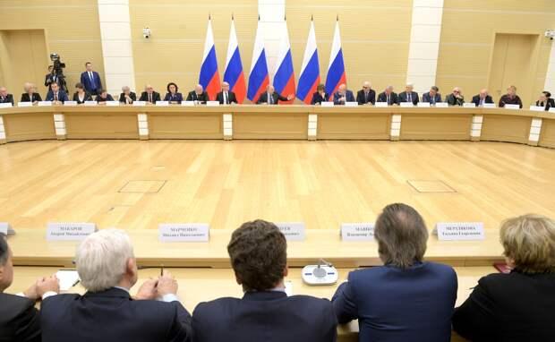 Заседание рабочей группы по поправкам к Конституции
