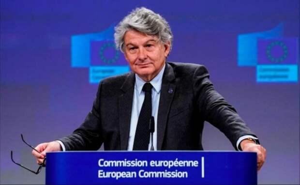 """""""Беларусь — это не Европа"""", — так сказал Еврокомиссар Тьерри Бретон…."""