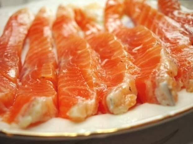 Рецепт маринада для красной рыбы