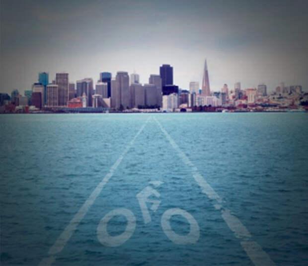 Пересечь Гудзон на водном велосипеде? Не вопрос!
