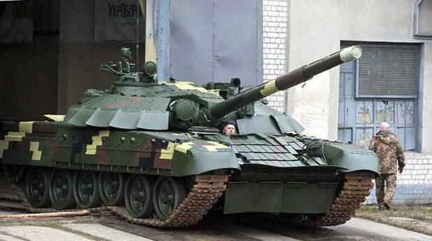 У украинцев насчитали более 500 готовых к войне танков