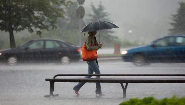 Кратковременные дожди и грозы ожидаются в Подольске в четверг