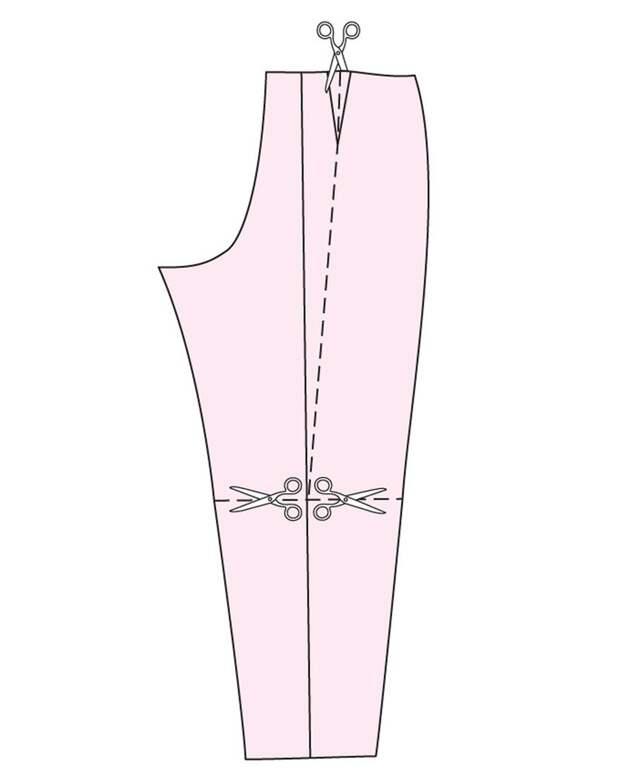 Если брюки жмут: корректировка выкройки