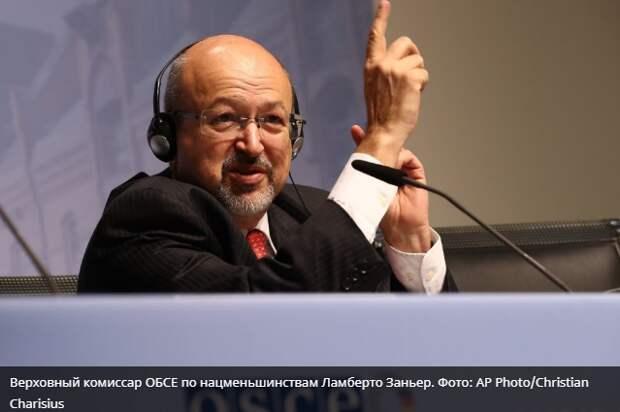 ОБСЕ вынесла приговор языковой политике на Украине