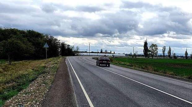 Ремонт дороги  Нижнегорский – Белогорск  завершился досрочно