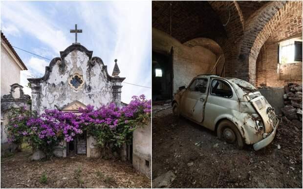 Заброшенная Европа: забытая архитектура на фото Йеруна Таала
