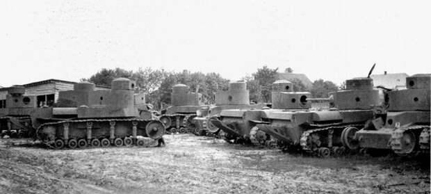 Захваченные Вермахтом танки Т-24