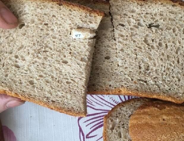 Жительница Балахны купила хлеб с окурком внутри
