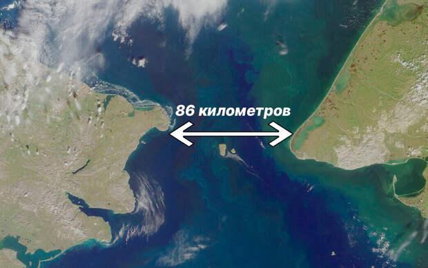 Подводный тоннель 86 км до Аляски. Не верите? А проект уже есть!