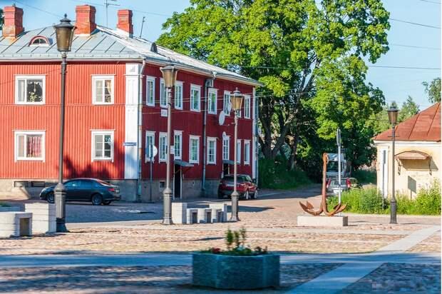 Петровская площадь, Выборг