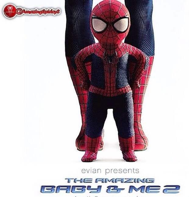 Младенцы Evian превратились в супергероев