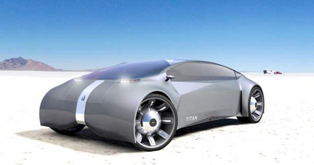 Электро мобиль для продвинутых-Apple Car 2022 года..