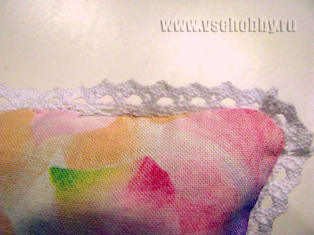 зашиваем отверстие для выворачивания потайным швом