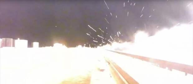 Американские военные разогнали гиперзвуковые сани до 10 620 км/ч (разрывное видео)