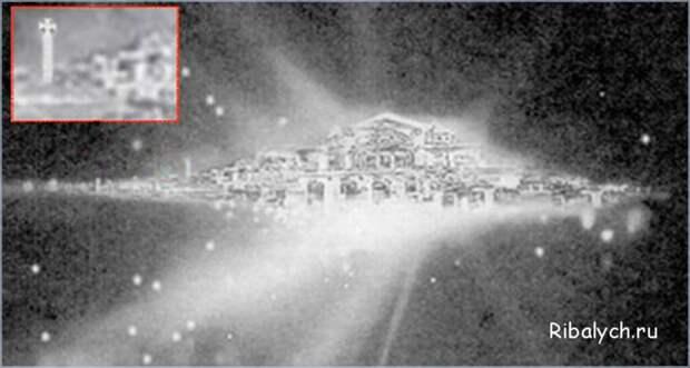 Объект, который оказался на снимке, стали называть «Городом Богов» или «Обителью Бога».