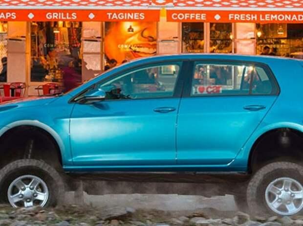 Новый Volkswagen Golf выйдет и как кроссовер