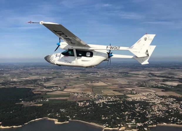 Французы испытали демонстратор гибридного самолета Cassio