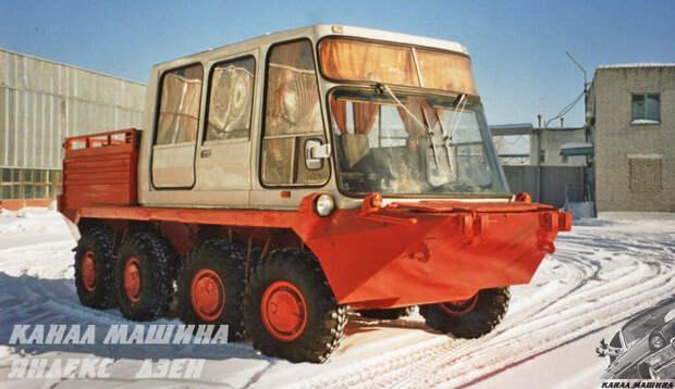 Самые необычные машины завода КАВЗ