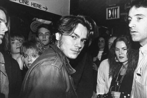 Ривер Феникс в 1990 году.