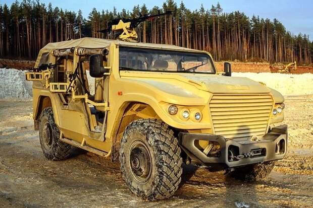 """На базе броневика """"Стрела"""" планируют создать """"русский Land Cruiser"""""""