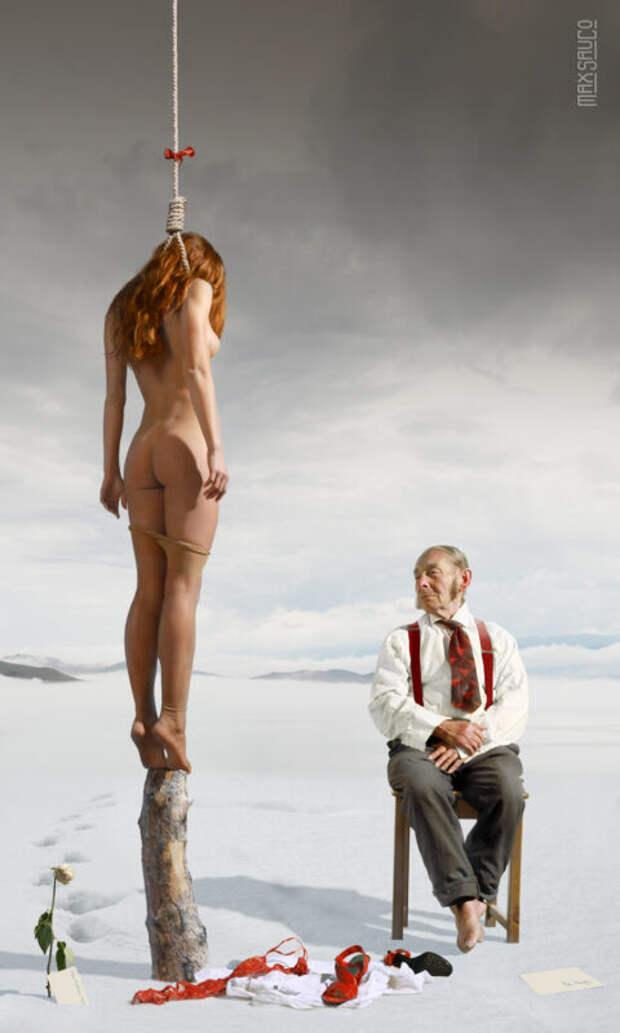 Эротический сюрреализм вфотоработах Макса Сауко изИркутска
